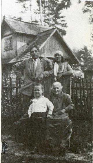 Photo famille Théo TOBIASSE Biographie