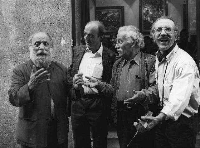 Photo de Théo TOBIASSE avec 3 hommes