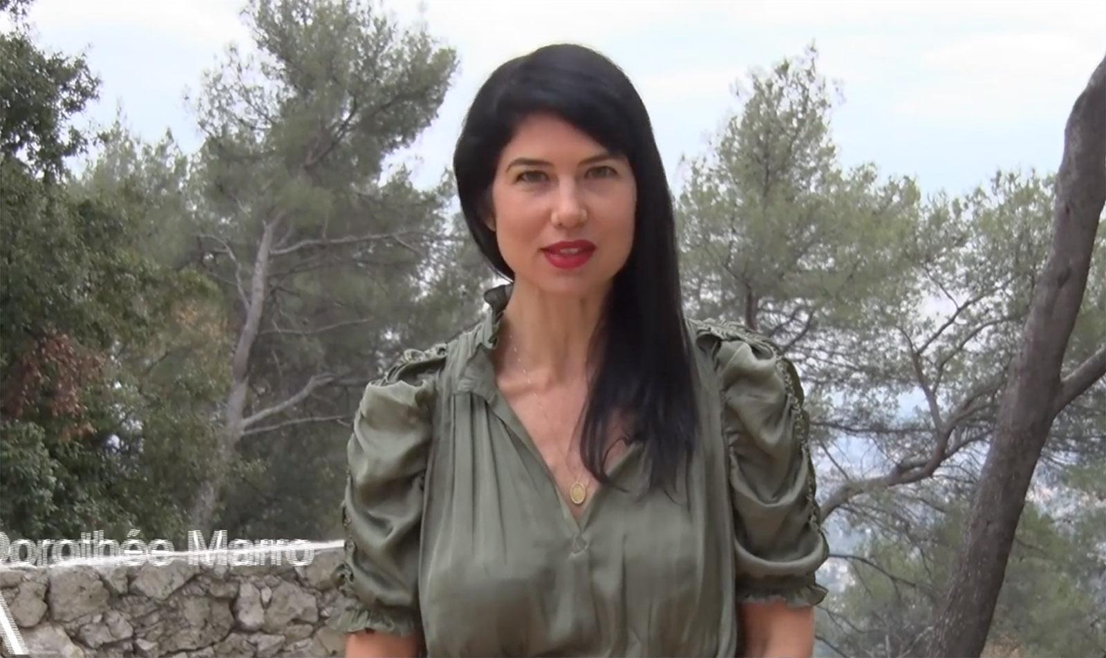 Dorothée Marro interview Catherine Tobiasse, Immersion Saint-Paul de Vence